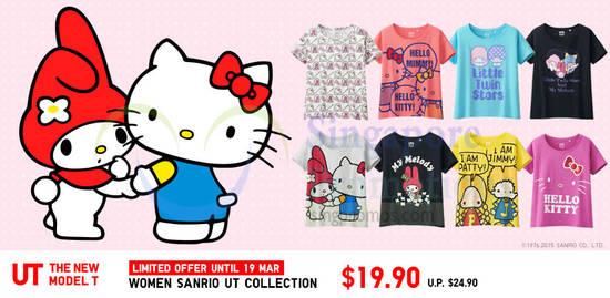 Women Sanrio UT Collection