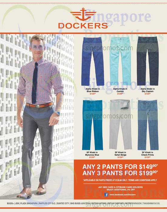 15 Apr Selected Khakis at Offer