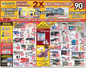 Featured image for Courts 3 Days Long Weekend Sale 4 – 6 Apr 2015