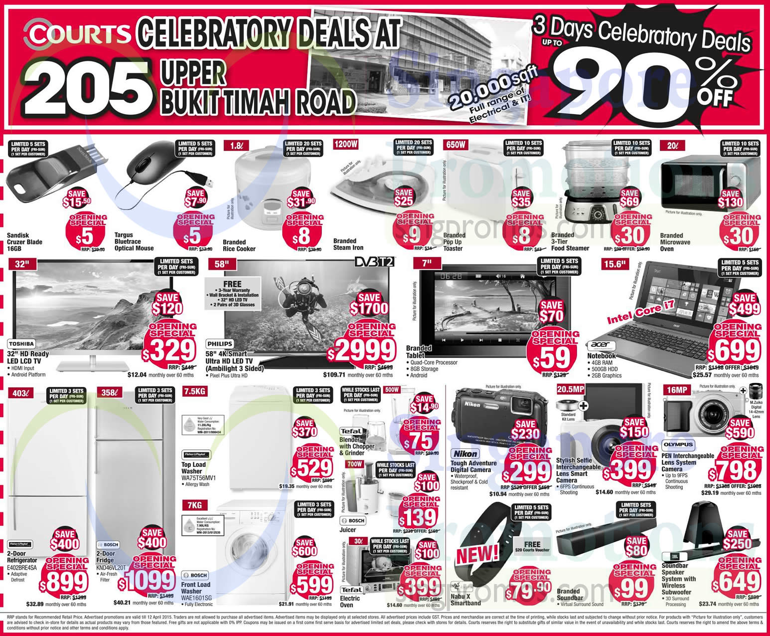 205, Upper Bukit Timah Road Store Specials Home Appliances ...