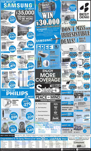 Featured image for Best Denki TV, Appliances & Other Electronics Offers 10 – 13 Apr 2015