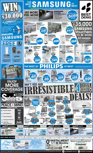 Featured image for Best Denki TV, Appliances & Other Electronics Offers 17 – 20 Apr 2015