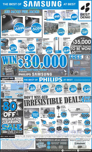 Featured image for Best Denki TV, Appliances & Other Electronics Offers 24 – 27 Apr 2015