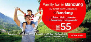 Featured image for Air Asia From $40 Promo Fares 13 – 19 Apr 2015