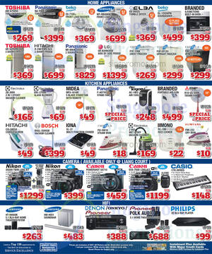 Featured image for Audio House Electronics, TV, Notebooks & Appliances Offers 1 – 4 May 2015
