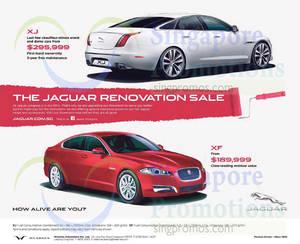Featured image for Jaguar XJ & Jaguar XF Offers 18 Apr 2015