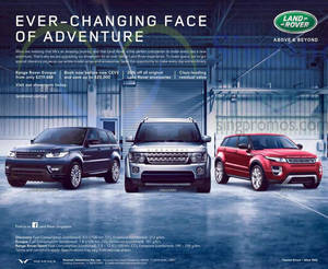 Featured image for Land Rover Evoque Offer 18 Apr 2015
