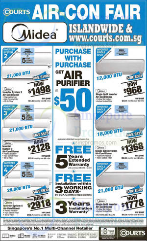 Featured image for Courts 41st Anniversary Sale Offers 25 – 27 Apr 2015