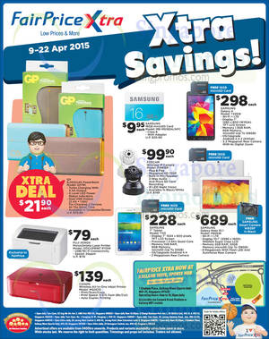 Featured image for NTUC Fairprice Groceries, Beauty, Personal Care & More Offers 9 – 22 Apr 2015