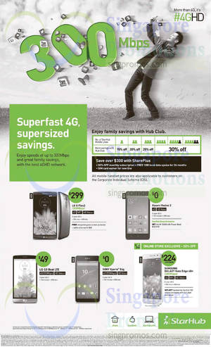 Featured image for Starhub Smartphones, Tablets, Cable TV & Broadband Offers 4 – 10 Apr 2015