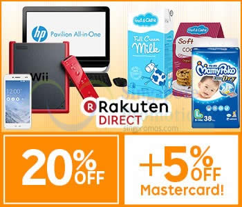 Rakuten Direct 6 Apr 2015