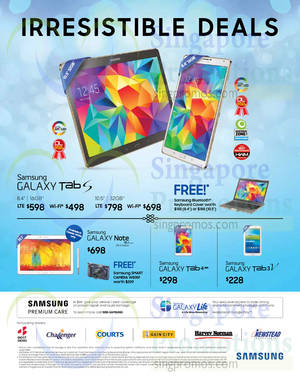 Featured image for Samsung Galaxy Tablet No Contract Offers 17 Apr 2015