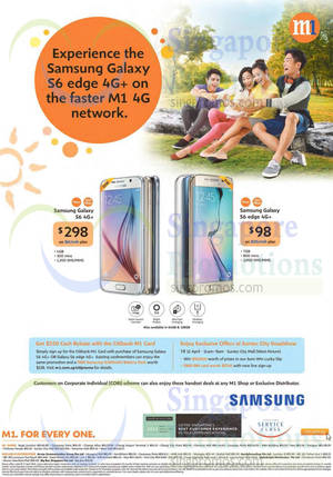 Featured image for M1 Smartphones, Tablets & Home/Mobile Broadband Offers 11 – 17 Apr 2015