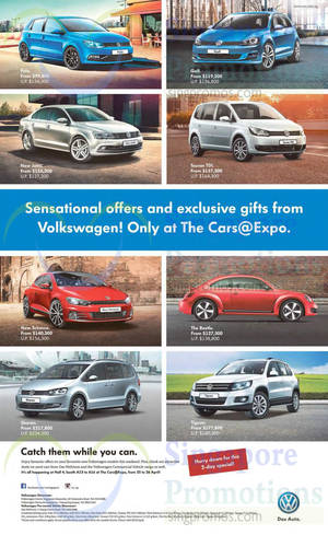Featured image for Volkswagen Polo, Golf, New Jetta, Touran TDI & More Offers 25 Apr 2015