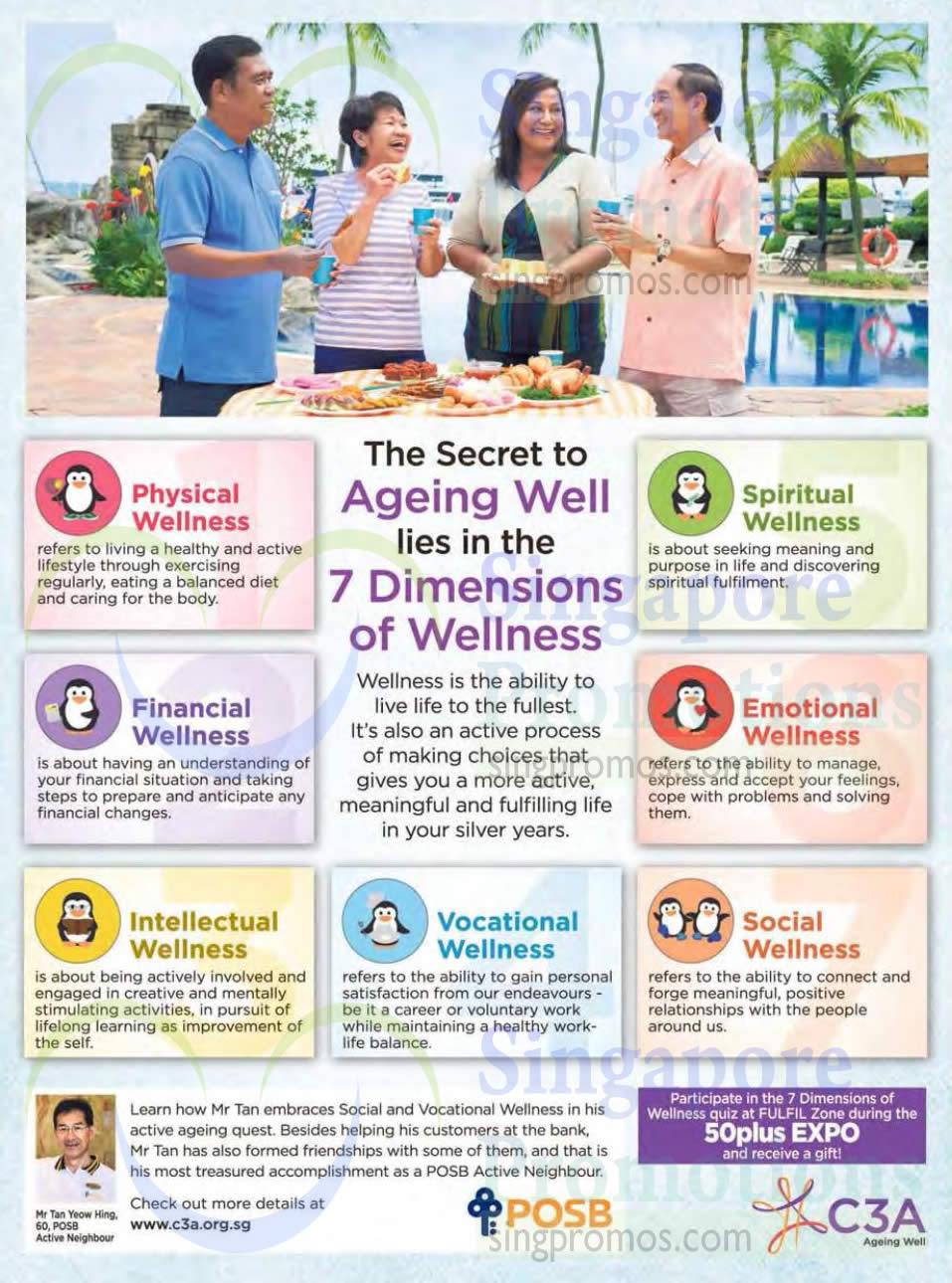 7 Dimensions Of Wellness 187 50plus Expo Suntec Singapore