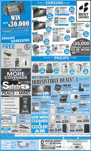 Featured image for Best Denki TV, Appliances & Other Electronics Offers 8 – 11 May 2015