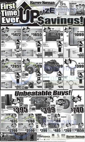Featured image for Harvey Norman Electronics, Appliances, Furniture & Other Offers 16 – 22 May 2015