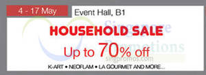 Featured image for Isetan Household Sale @ Westgate 4 – 17 May 2015
