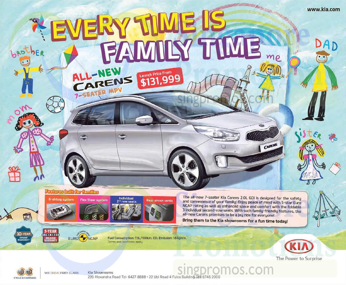 kia carens 9 may 2015 kia carens 7 seater mpv offer 9 may 2015. Black Bedroom Furniture Sets. Home Design Ideas