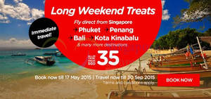 Featured image for Air Asia fr $34 (all-in) Promo Fares 11 – 17 May 2015