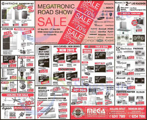 Featured image for Mega Discount Store TVs, Washers, Hobs & Other Appliances Offers 16 May 2015