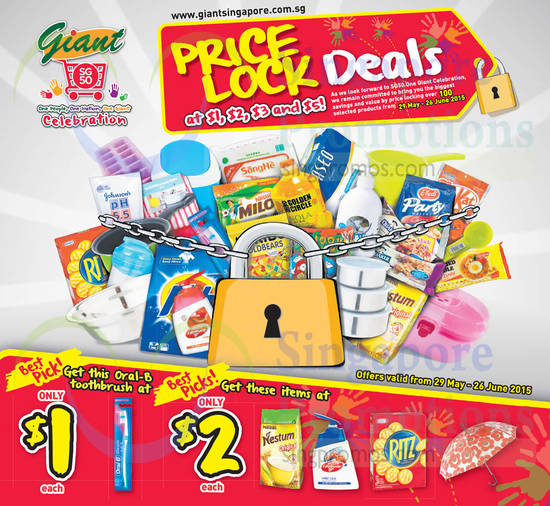 Price Lock Deals Best Picks