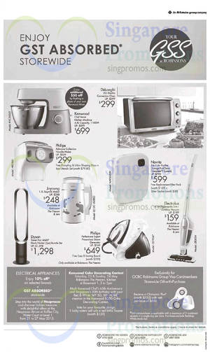 Featured image for Robinsons Home Appliances Offers 21 May 2015
