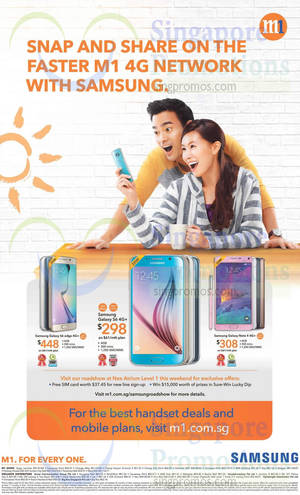 Featured image for M1 Home Broadband, Mobile & Other Offers 16 – 22 May 2015