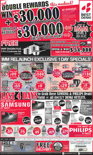 Featured image for Best Denki TV, Appliances & Other Electronics Offers 29 May – 1 Jun 2015