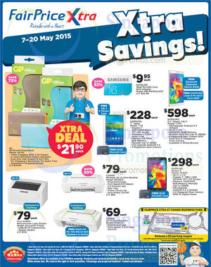 Featured image for NTUC Fairprice Wines, I.T Gadgets, Supplements & Other Grocery Offers 7 – 20 May 2015