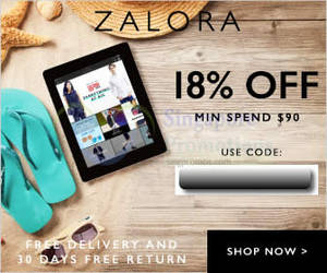 Featured image for Zalora 18% OFF ($90 Min Spend) Storewide Coupon Code 1 – 31 Jul 2015