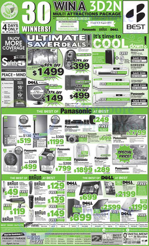 Featured image for Best Denki TV, Appliances & Other Electronics Offers 26 – 29 Jun 2015