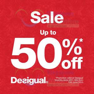 Featured image for Desigual Sale (Final Sale!) 10 Jun 2015