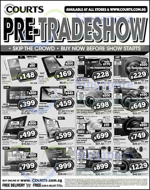 Featured image for Courts Pre-Tradeshow Sale Offers 2 – 4 Jun 2015