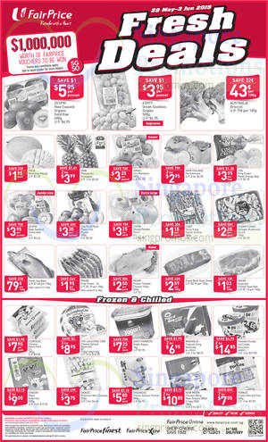 Featured image for NTUC Fairprice Catalogue Super Saver, Wines, Groceries, Fruits Offers 28 May – 10 Jun 2015