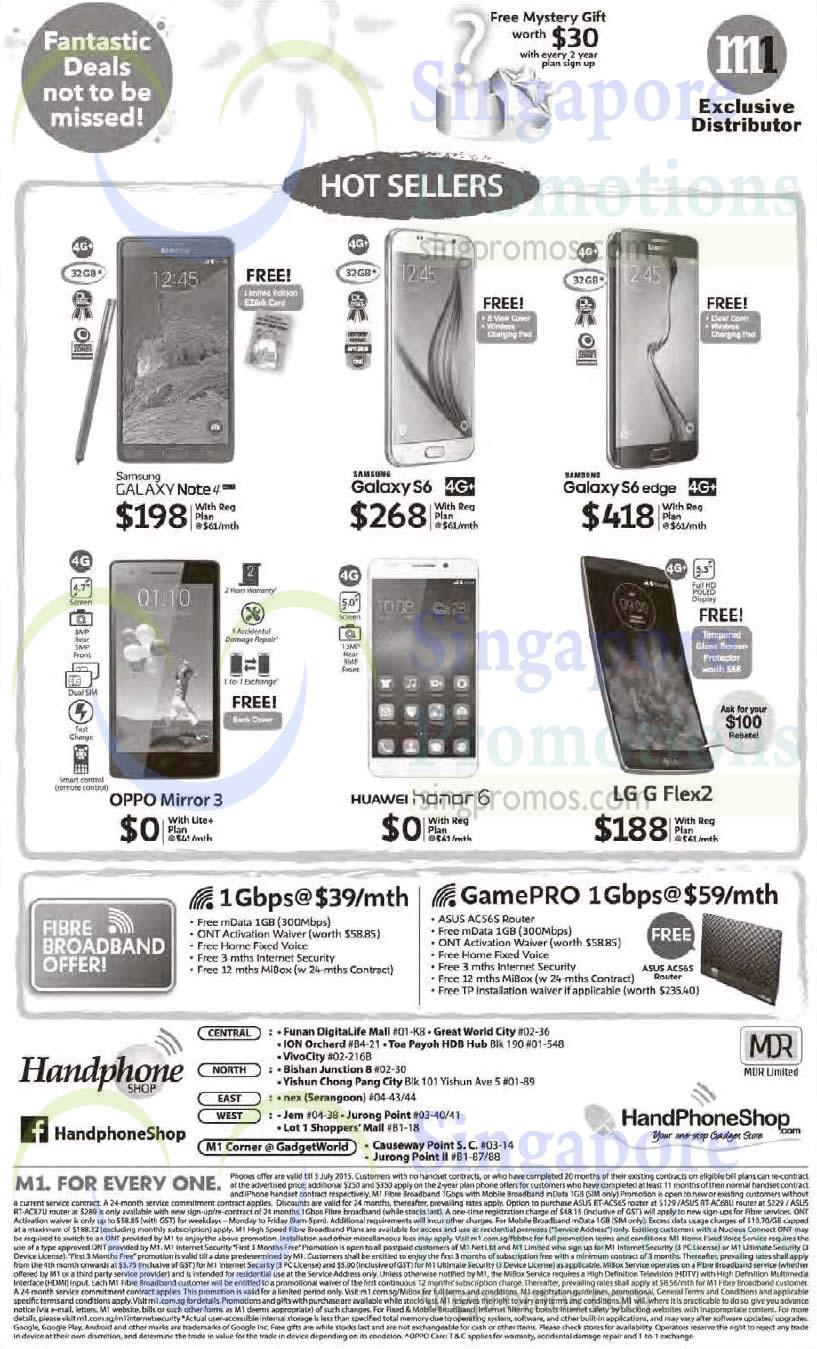 Handphone Shop Samsung Galaxy Note 4 S6 S6 Edge Oppo