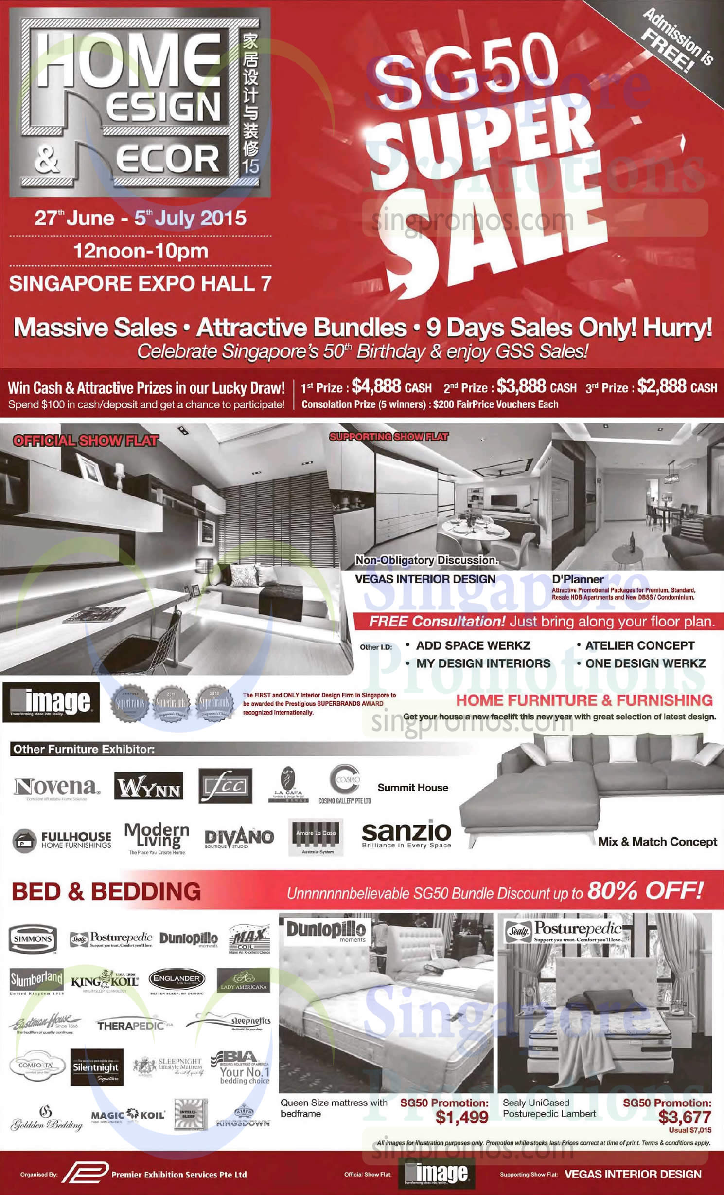 Home design n decor super sale 27 jun 2015 home design for Home decor expo 2015