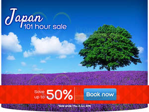 Featured image for Hotels.Com Up To 50% Off Japan 101 Hour Sale 30 Jun – 3 Jul 2015