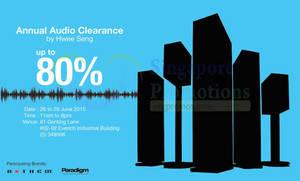Featured image for Hwee Seng Audio Warehouse Sale 26 – 28 Jun 2015