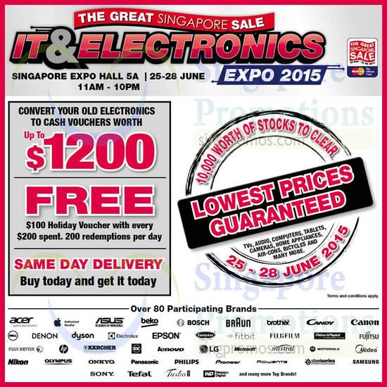 IT n Electronics Expo 23 Jun 2015