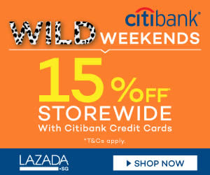 Lazada Citibank 19 Jun 2015