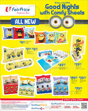 Featured image for Fairprice Minions, Beauty, Wines, Mozzie Busters & Other Offers 18 Jun – 1 Jul 2015