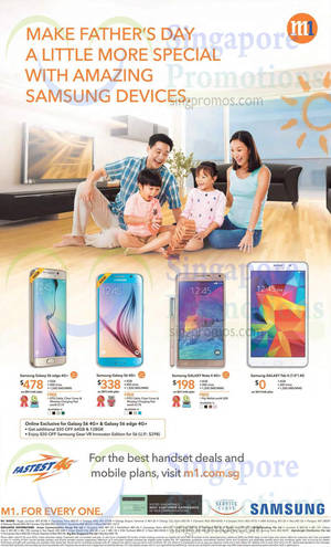 Featured image for M1 Home Broadband, Mobile & Other Offers 20 – 26 Jun 2015