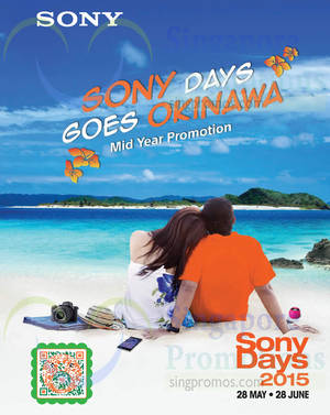Featured image for Sony Days TVs, Home Theatre, Smartphones, Players, Cameras & Other Promo Offers 8 – 28 Jun 2015