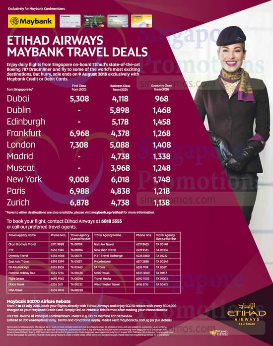 7 Jul Etihad Airways Travel Deals