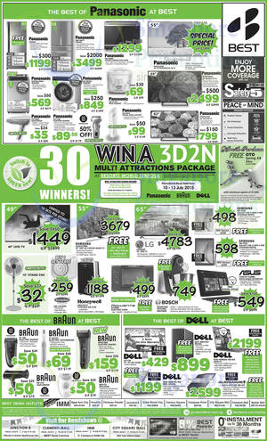 Featured image for Best Denki TV, Appliances & Other Electronics Offers 10 – 13 Jul 2015