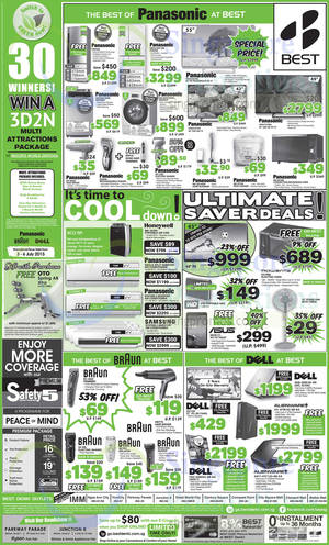 Featured image for Best Denki TV, Appliances & Other Electronics Offers 3 – 6 Jul 2015