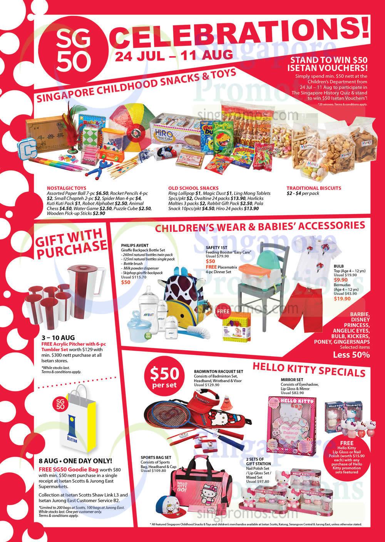 Toys For Tots Letter Head : Isetan sg celebrations promo offers jul aug