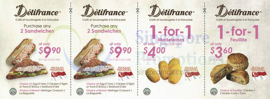 Delifrance Discount Coupons Front