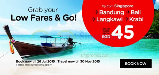 Grab your Low Fares n Go